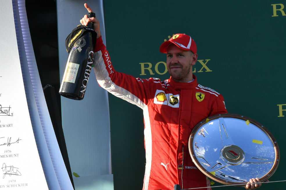 Sebastián Vettel se quedó con el Gran Premio de Melbourne