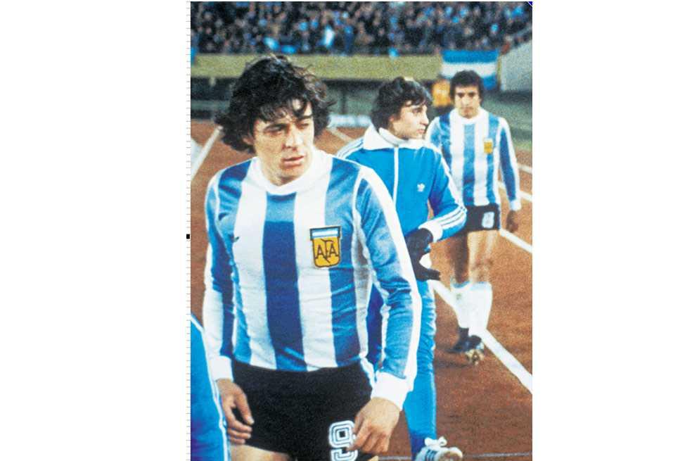 Murió René Houseman, campeón del mundo con Argentina