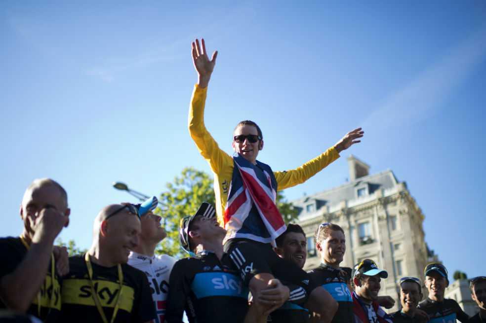 Comité parlamentario acusa a Wiggins de doparse para ganar el Tour de 2012