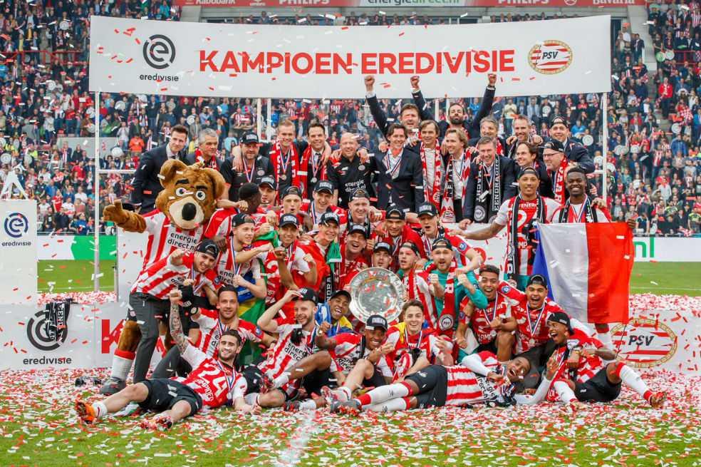 Santiago Arias, campeón con el PSV en Holanda