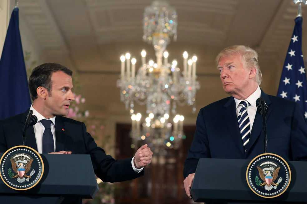 Trump y Macron trabajarán un «nuevo acuerdo» con Irán
