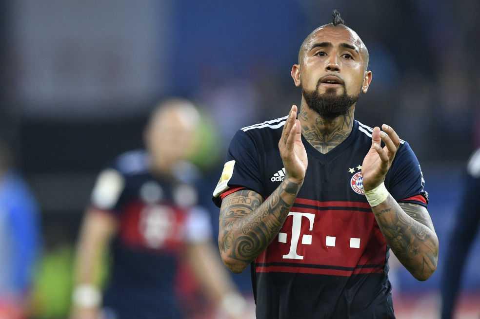 Vidal se perderá por lesión las semifinales de Champions ante el Real Madrid