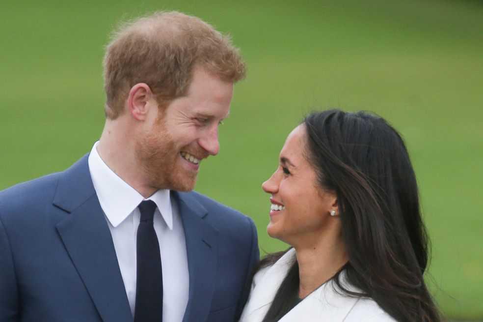 """Harry y Meghan, el amor entre un príncipe y una """"plebeya"""""""