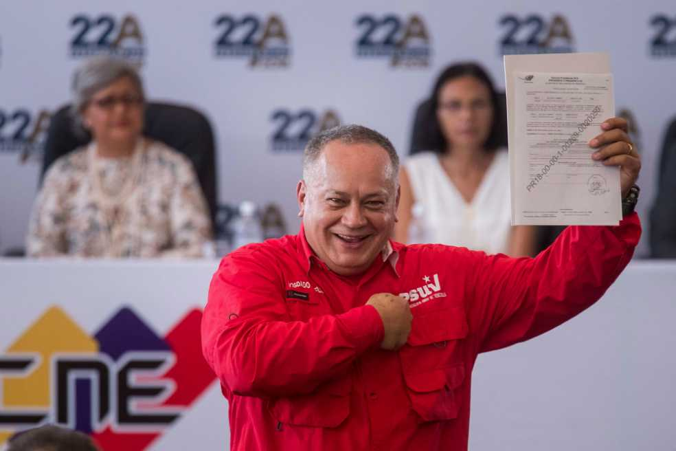 EE.UU. impone más sanciones contra Diosdado Cabello