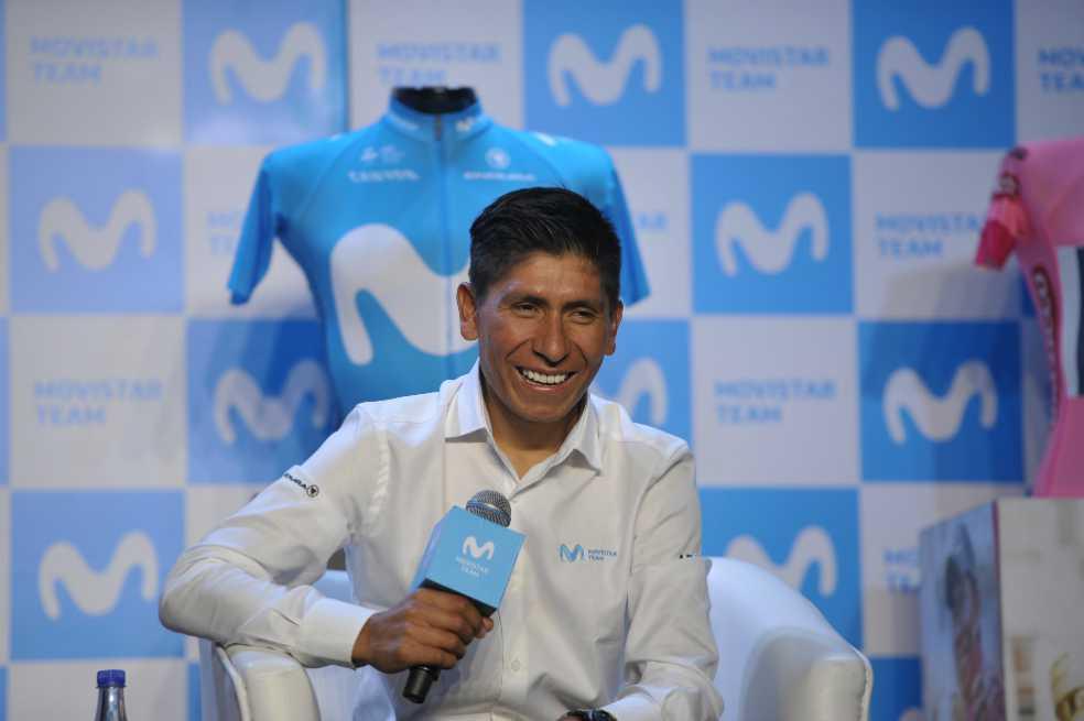 Nairo Quintana: «Este año espero que las piernas duelan menos»