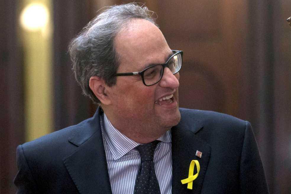 Las declaraciones xenófobas que el nuevo presidente catalán quiere ocultar