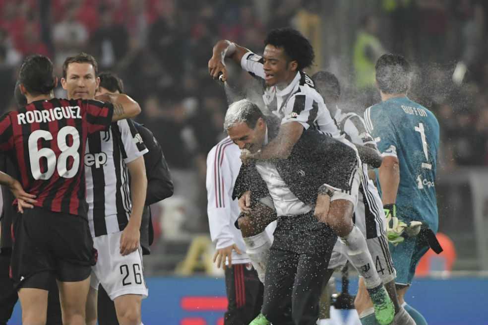 Cuadrado, campeón con la Juve de la Copa de Italia