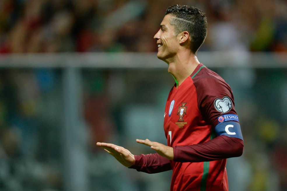 Cristiano Ronaldo comanda el listado de Portugal para el Mundial