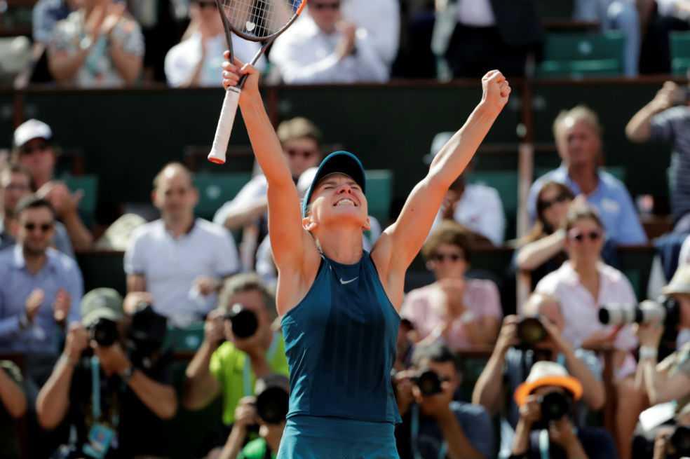 Simona Halep se coronó campeona del Roland Garros