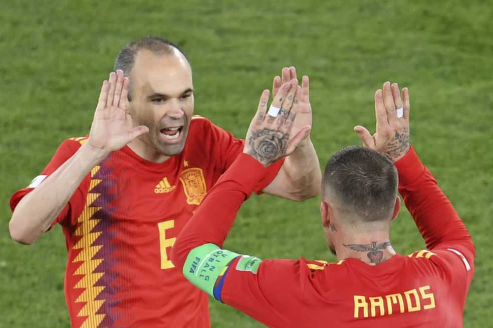 España empató con Marruecos y es líder del grupo B del Mundial