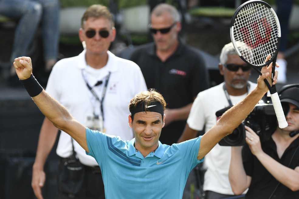 Federer jugará la final en el ATP de Stuttgart y volverá a ser el número uno del mundo