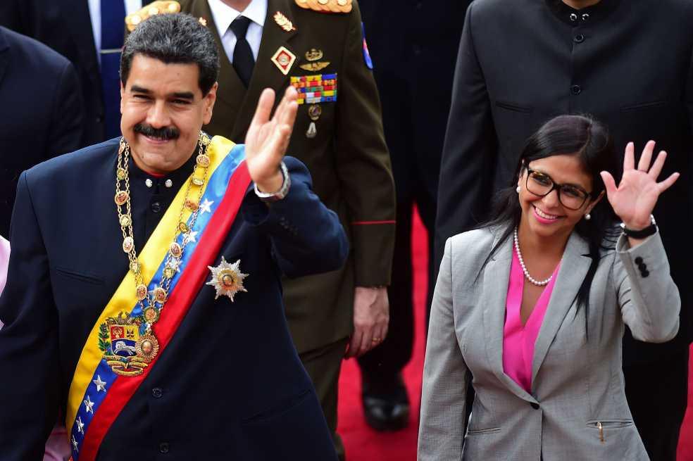 Maduro anuncia cambios en su gabinete y nombra a Delcy Rodríguez como vicepresidenta