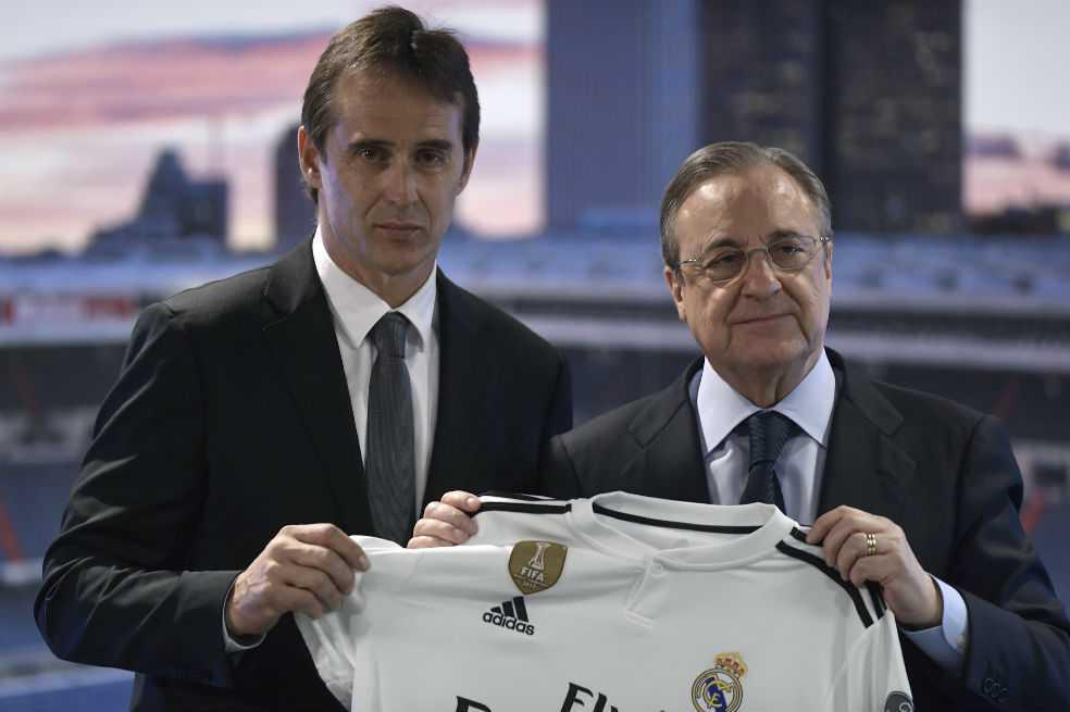 En medio de la tristeza, Julen Lopetegui fue presentado como nuevo entrenador del Real Madrid