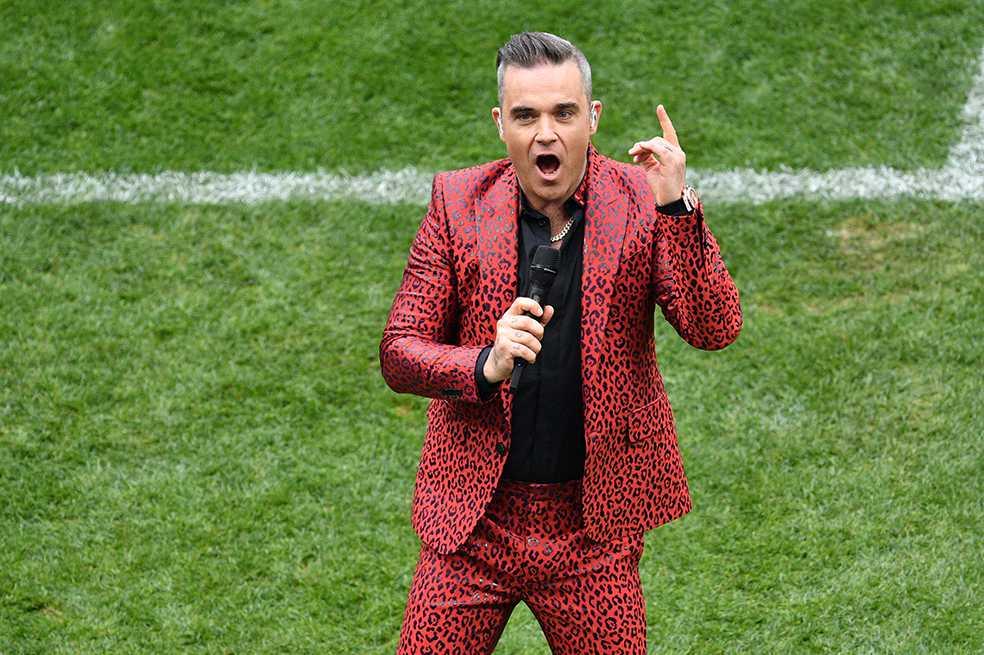 Fox se excusa por el gesto de Robbie Williams