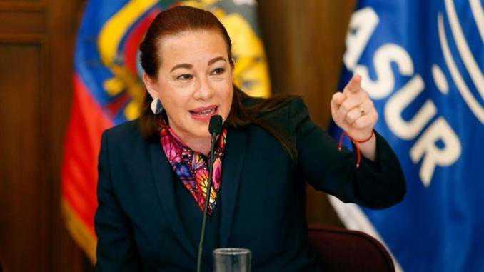 Canciller ecuatoriana será la primera latinoamericana en presidir Asamblea de la ONU