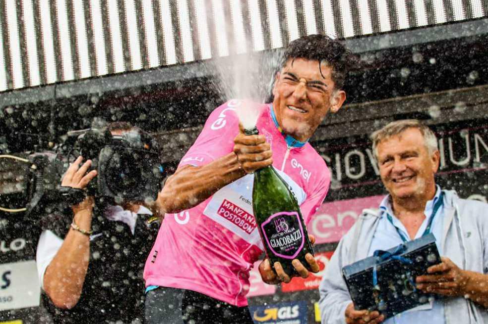 Alejandro Osorio recuperó el liderato del Giro de Italia sub 23