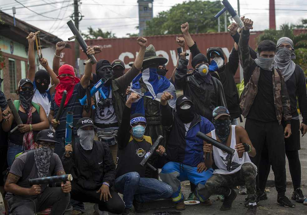Nicaragua se alista para paro nacional convocado por la oposición