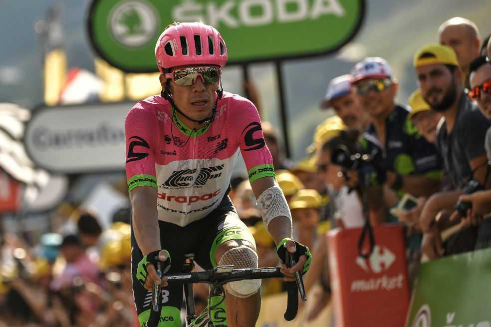 «No nos rendiremos»: Rigoberto Urán, tras perder tiempo en la décima etapa del Tour