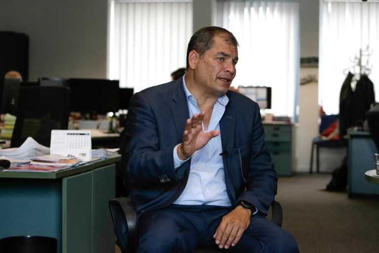 Correa denuncia complot del gobierno de Ecuador detrás de orden de detención