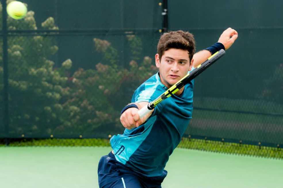 Nicolás Mejía, entre los ocho mejores de Wimbledon Júnior