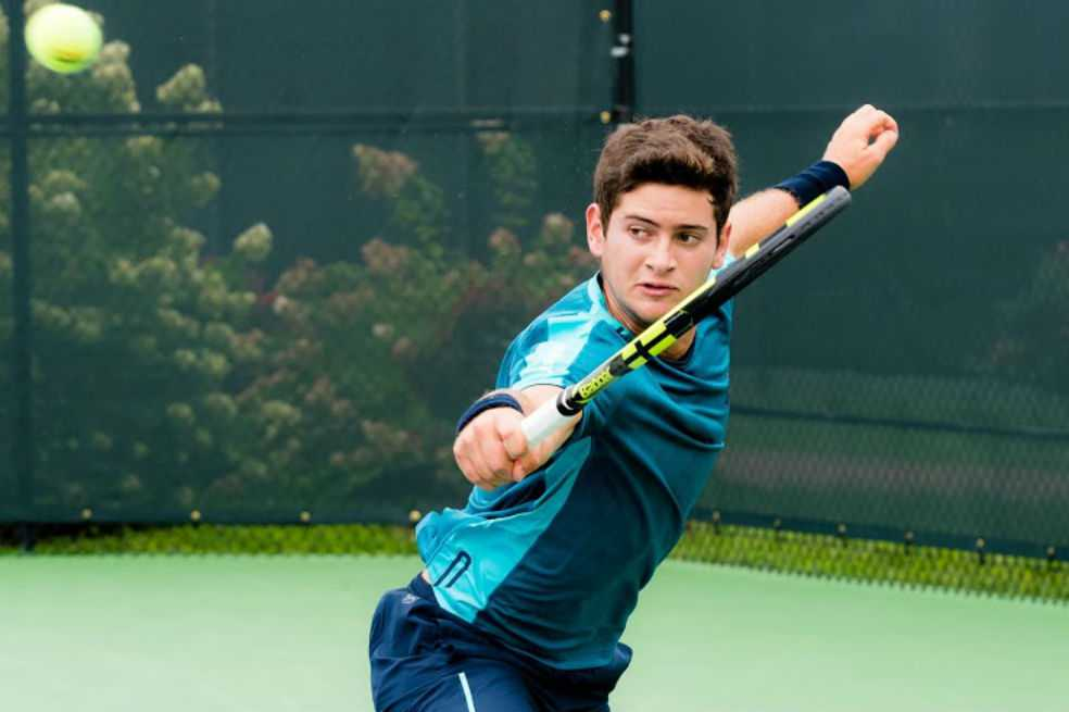 Nicolas Mejía es semifinalista de Wimbledon Júnior