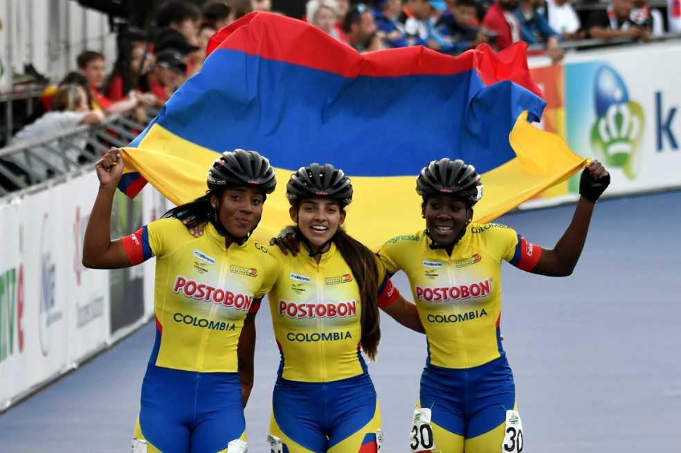 Colombia ganó el título en la pista del Mundial de Patinaje