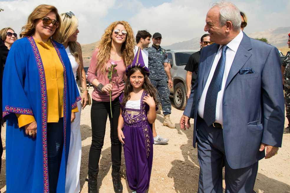 Shakira visitó Tannurin, el pueblo de su abuela paterna en Líbano