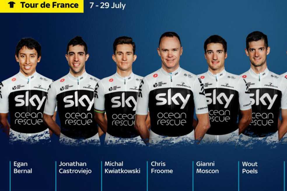 Egan Bernal fue confirmado por el Sky para correr su primer Tour de Francia