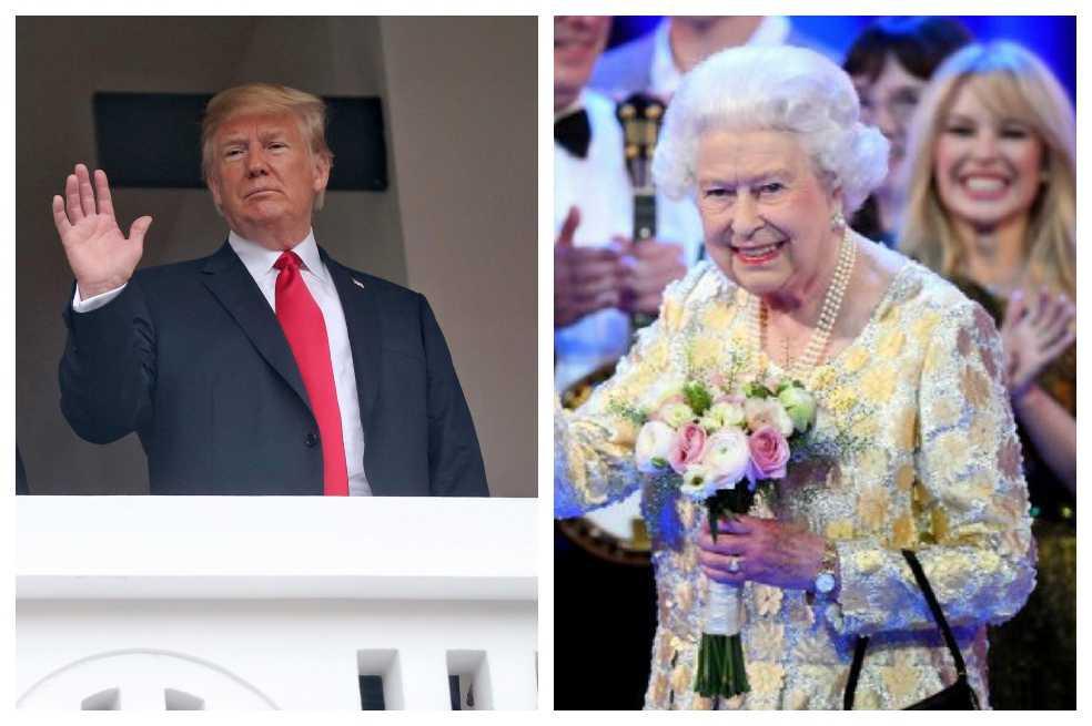 Trump será el presidente de EE. UU número 12 en conocer a la Reina Isabel II