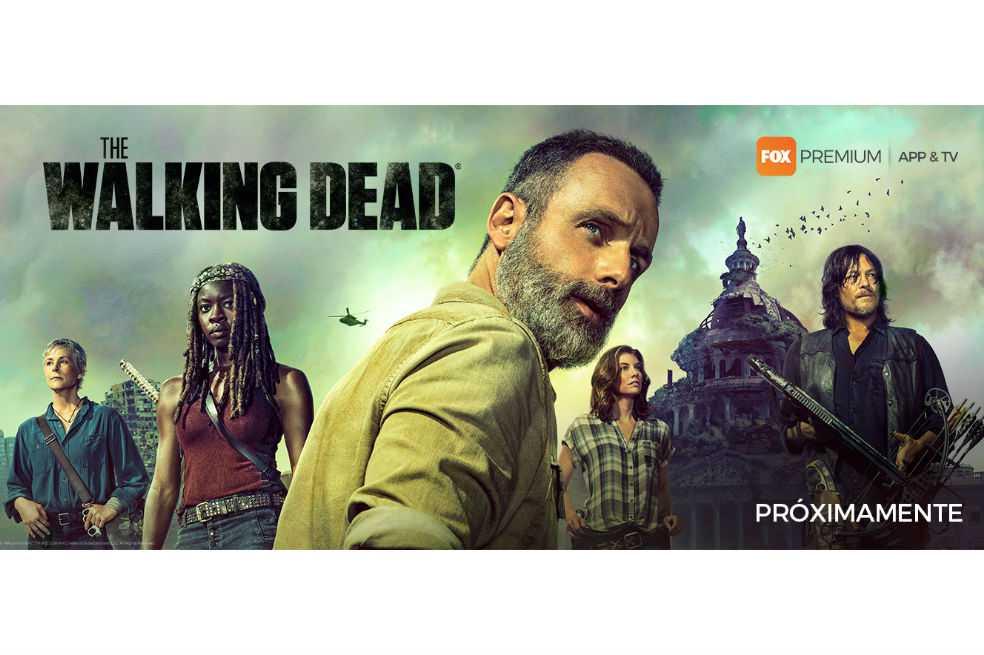 «The Walking Dead» da a conocer afiche de novena temporada