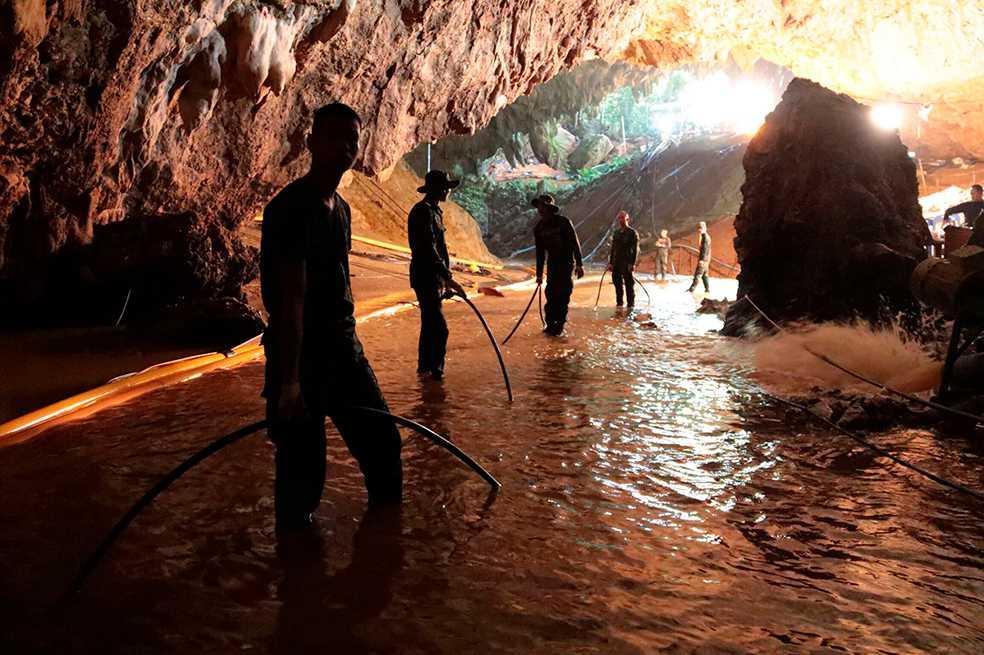 El rescate de los niños en la cueva de Tailandia se convertirá en película