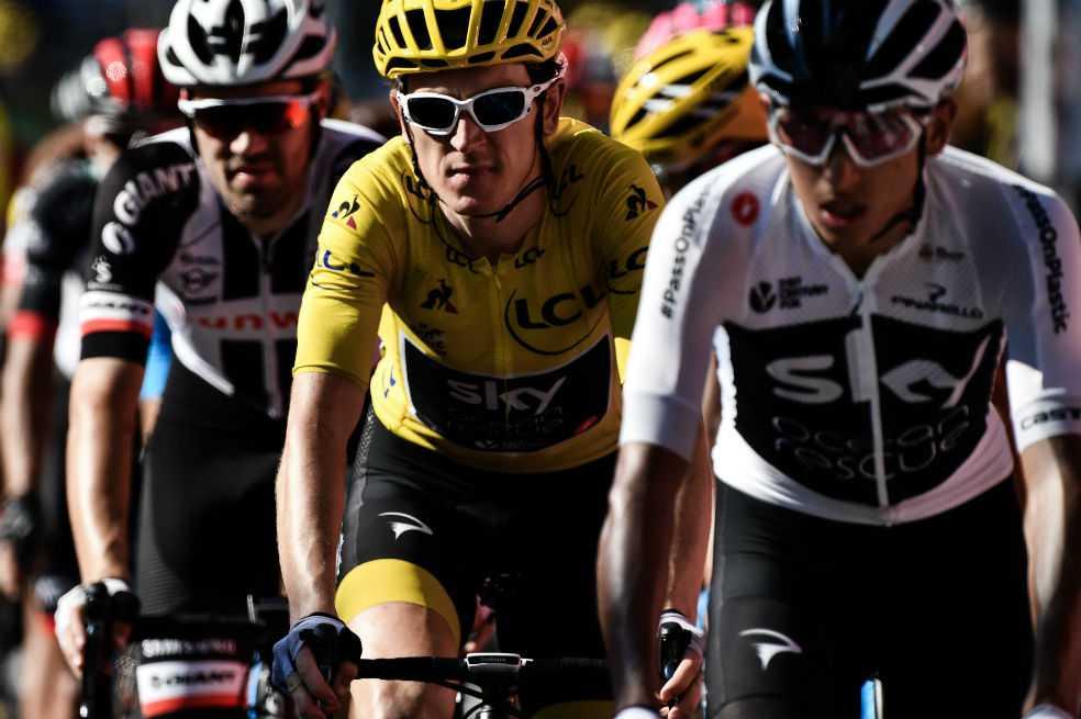«Me quito el sombrero ante Egan Bernal», Thomas, líder del Tour de Francia