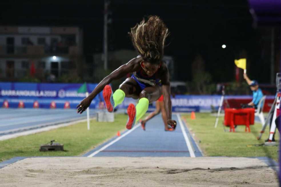 Caterine Ibargüen logró oro en el salto largo en los Centroamericanos