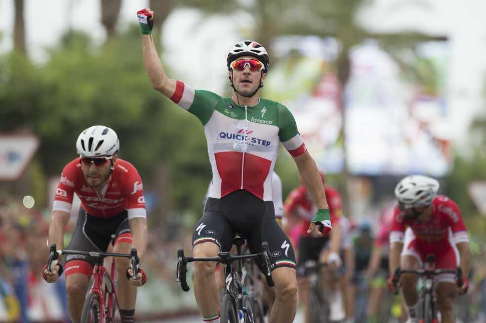 Viviani se impuso en la tercera etapa; Nairo se mantiene noveno