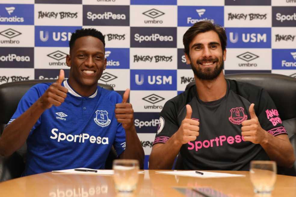 Es oficial: Yerry Mina es nuevo jugador del Everton