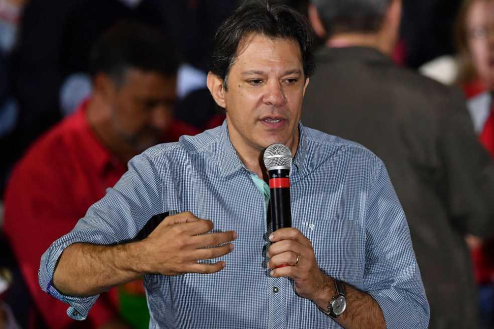 Fernando Haddad, la fórmula vicepresidencial de Lula