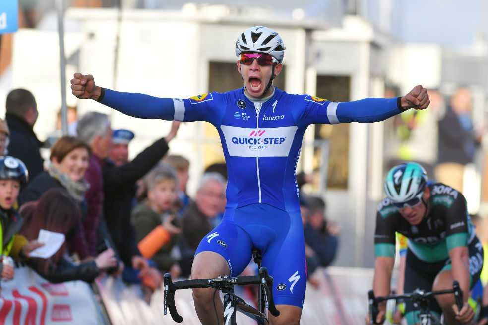 Álvaro Hodeg ganó la tercera etapa de la Vuelta a Polonia y es el nuevo líder