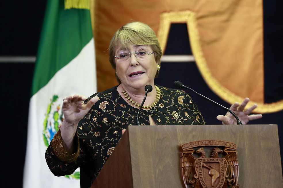 Michelle Bachelet será la próxima jefa de Derechos Humanos de la ONU