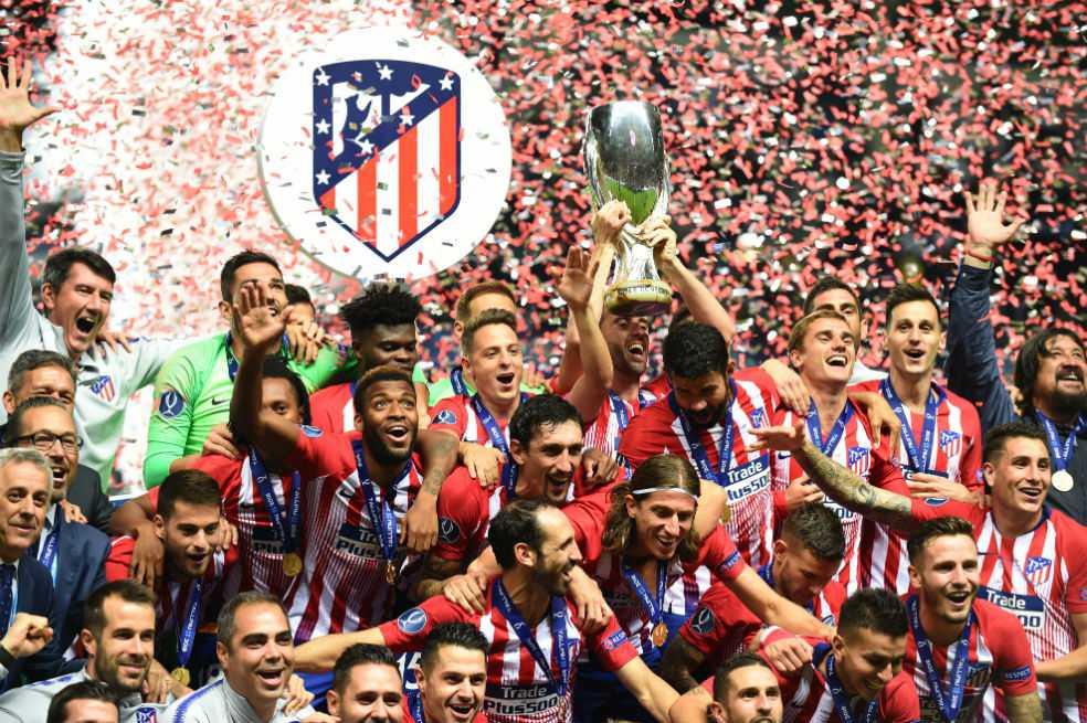 Atlético de Madrid se quedó con la Supercopa de Europa