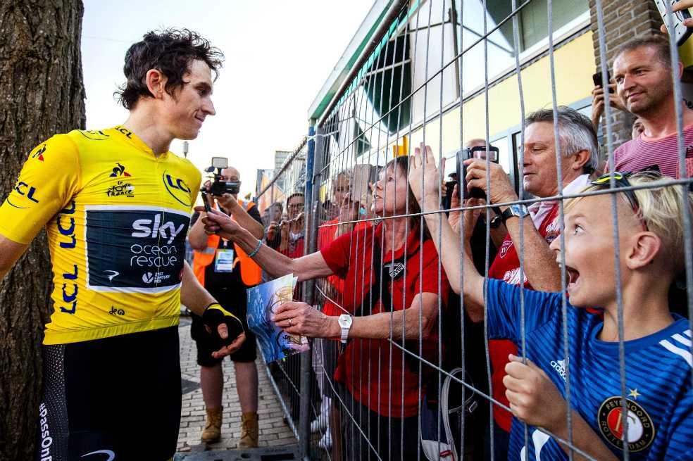 Thomas dice que su vida está «patas arriba» tras ganar el Tour