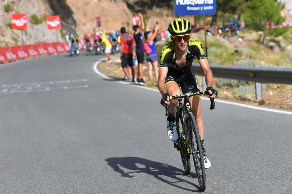 Yates avisa a Nairo en la Sierra de la Alfaguara
