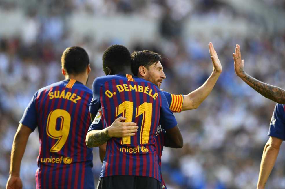 Barcelona le ganó 4-0 al PSV en su estreno en la Liga de Campeones