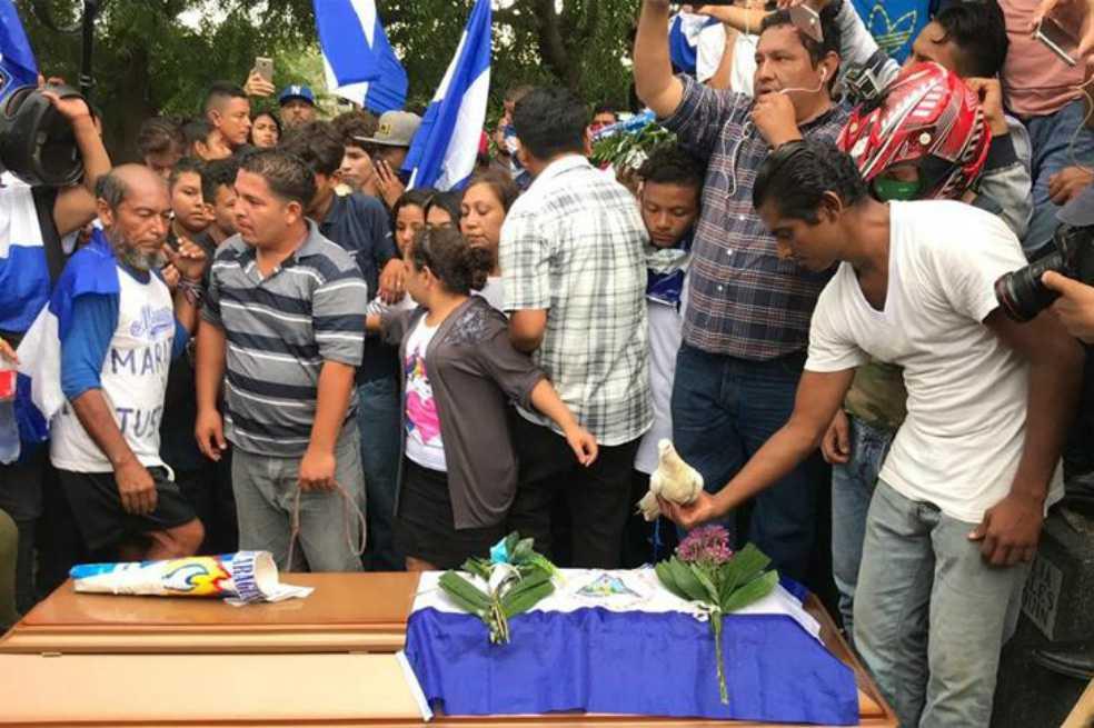 Asesinato de adolescente reactiva el ritmo de la muerte en Nicaragua