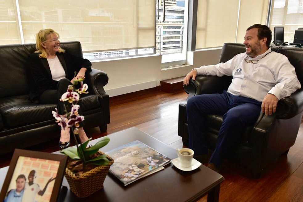 Exfiscal general de Venezuela, Luisa Ortega, agradece ayuda de Colombia con migrantes