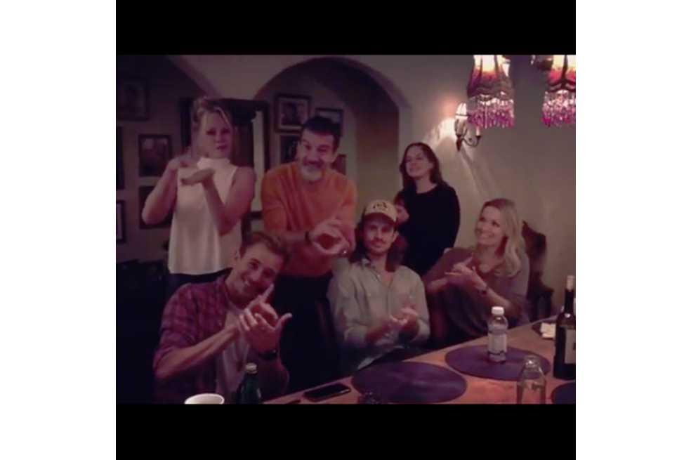 La familia Banderas-Griffith se reunió en Los Ángeles