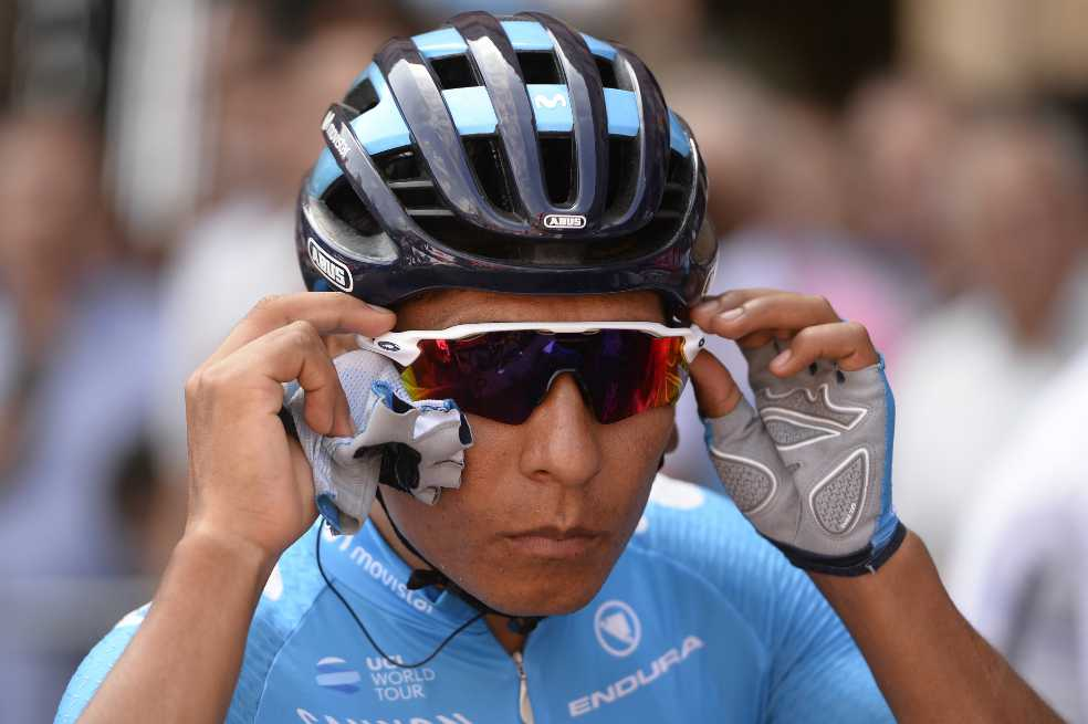 Nairo Quintana: «A pesar del pinchazo, hemos estado bien»