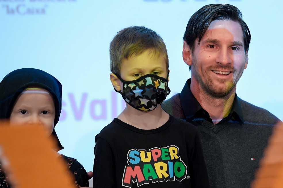 Leo Messi cofinancia un hospital para niños con cáncer en Barcelona