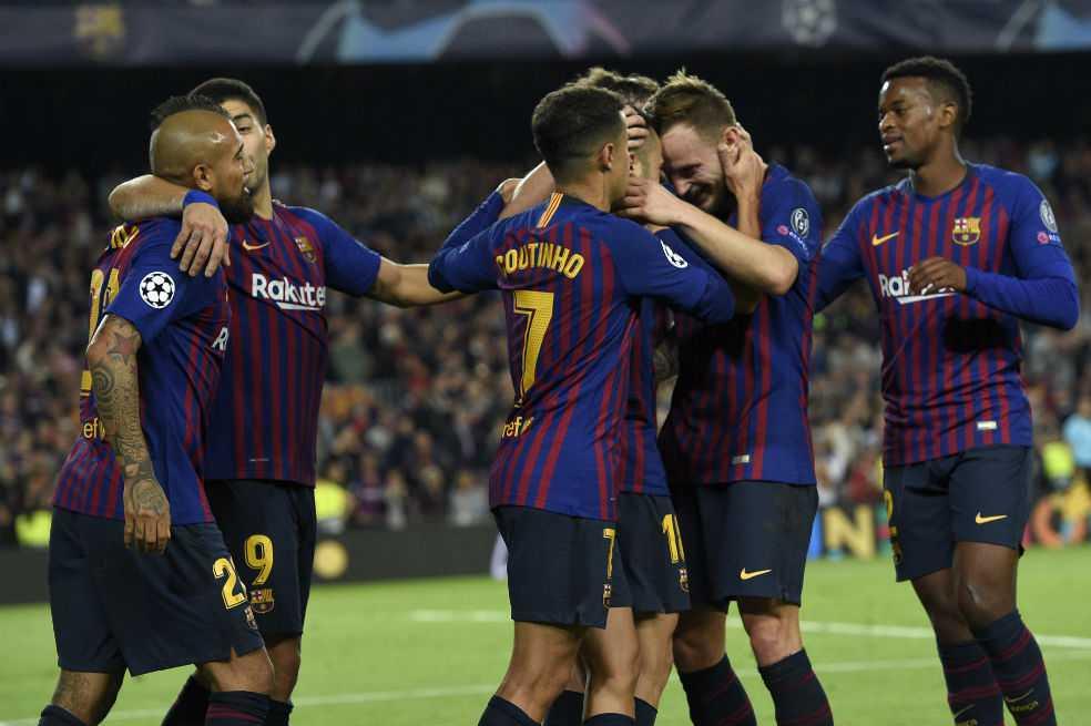 El Barcelona, sin Messi, se impone 2-0 al Inter de Milán en Champions