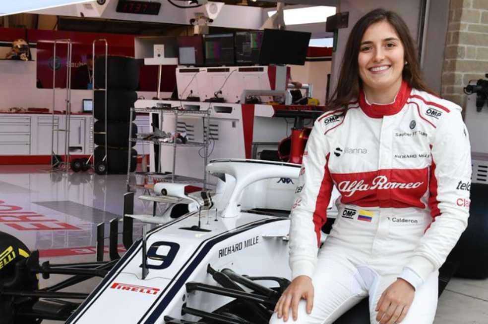 Tatiana Calderón se convertirá en la primera latinoamericana en probar un auto Fórmula 1