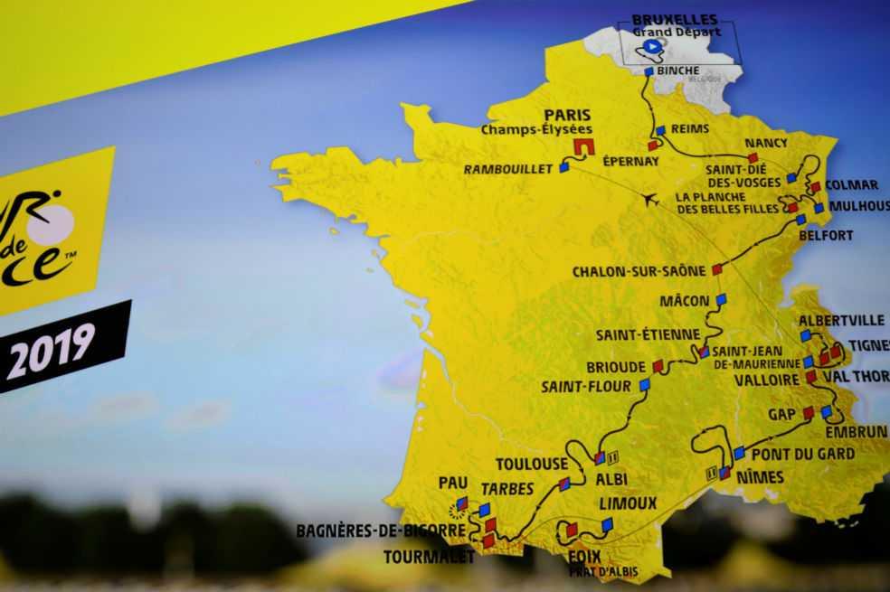 El Tour de Francia de 2019, el más montañoso de la historia